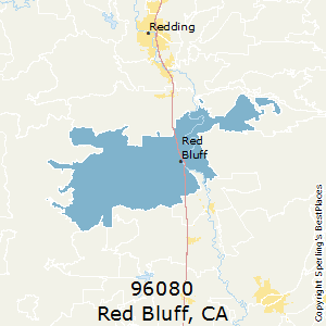 Red_Bluff,California(96080) Zip Code Map