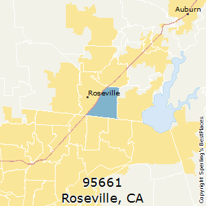 Roseville California Zip Code Map.Best Places To Live In Roseville Zip 95661 California