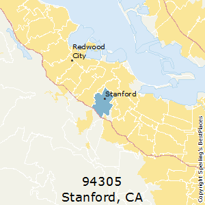 Stanford Zip Code Map.Best Places To Live In Stanford Zip 94305 California
