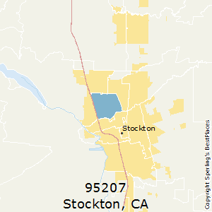 Best Places to Live in Stockton (zip 95207), California