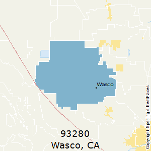 Wasco california zip code