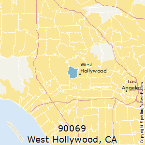 Hollywood Ca Zip Code Map.Best Places To Live In West Hollywood Zip 90069 California