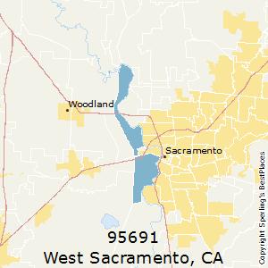 Zip Code Map Sacramento Ca.Best Places To Live In West Sacramento Zip 95691 California
