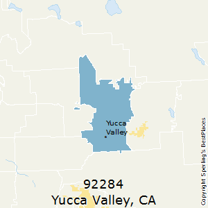 Yucca_Valley,California County Map