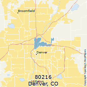 Best Places to Live in Denver (zip 80216), Colorado