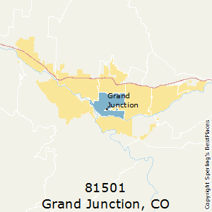 Grand Junction Co Zip Code Map.Best Places To Live In Grand Junction Zip 81501 Colorado