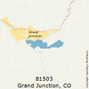 Grand Junction Co Zip Code Map.Best Places To Live In Grand Junction Zip 81503 Colorado