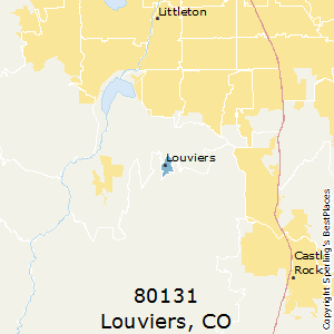 Louviers,Colorado(80131) Zip Code Map