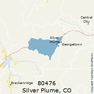 Silver_Plume,Colorado(80476) Zip Code Map
