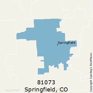 Springfield Colorado Map.Best Places To Live In Springfield Zip 81073 Colorado