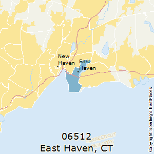 East_Haven,Connecticut County Map