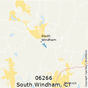 South_Windham,Connecticut County Map