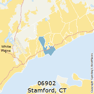 Stamford,Connecticut(06902) Zip Code Map