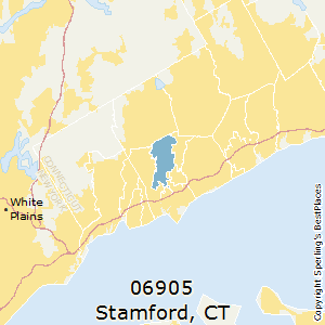 Stamford,Connecticut County Map