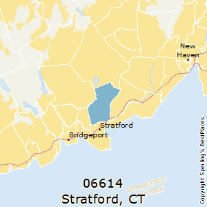 stratford ct zip code map Best Places To Live In Stratford Zip 06614 Connecticut