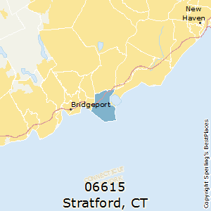 stratford ct zip code map Best Places To Live In Stratford Zip 06615 Connecticut