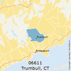 Trumbull,Connecticut County Map