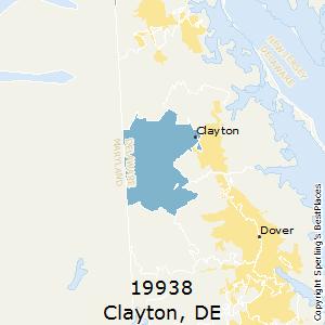 Dover De Zip Code Map.Best Places To Live In Clayton Zip 19938 Delaware