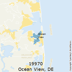 Ocean_View,Delaware(19970) Zip Code Map