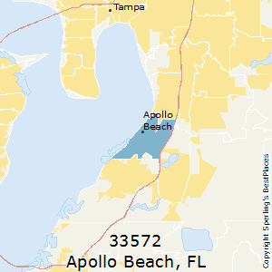 Apollo_Beach,Florida(33572) Zip Code Map