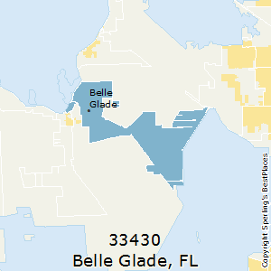 Belle_Glade,Florida County Map