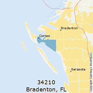 Bradenton,Florida County Map