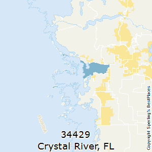 Crystal_River,Florida County Map