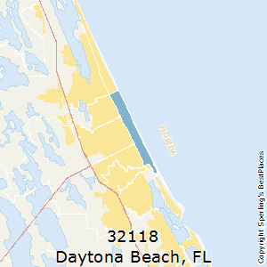 Ormond Beach Zip Code Map.Best Places To Live In Daytona Beach Zip 32118 Florida