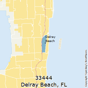 Map Of Florida Showing Delray Beach.Best Places To Live In Delray Beach Zip 33444 Florida