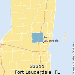 Fort_Lauderdale,Florida(33311) Zip Code Map
