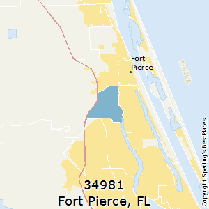 Fort_Pierce,Florida County Map