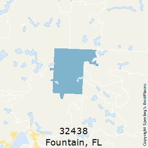 Map 0f Florida.Best Places To Live In Fountain Zip 32438 Florida
