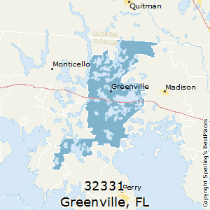 Greenville Florida Map.Best Places To Live In Greenville Zip 32331 Florida