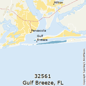 Map Gulf Breeze Florida.Best Places To Live In Gulf Breeze Zip 32561 Florida