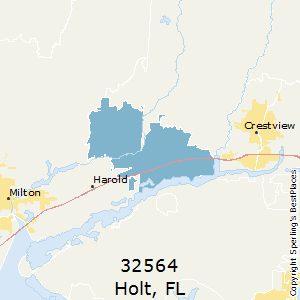 Holt Florida Map.Best Places To Live In Holt Zip 32564 Florida