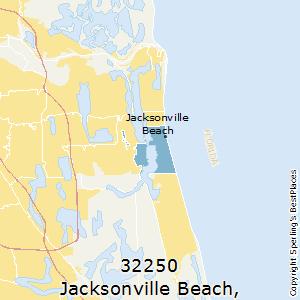 Jacksonville_beachflorida Zip Code Map