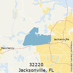 Jax Fl Zip Code Map.Best Places To Live In Jacksonville Zip 32220 Florida