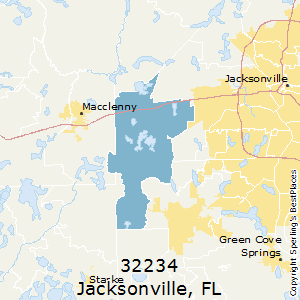 Best Places to Live in Jacksonville (zip 32234), Florida on
