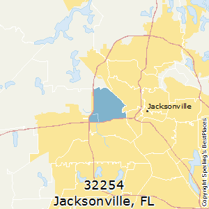 32254 Zip Code Map.Best Places To Live In Jacksonville Zip 32254 Florida