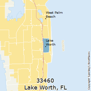 Lake_Worth,Florida County Map