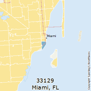 Brickell Zip Code Map.Best Places To Live In Miami Zip 33129 Florida