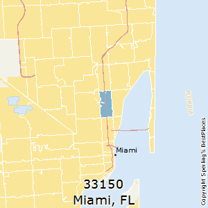 Miami,Florida County Map