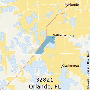 Best Places to Live in Orlando (zip 32821), Florida on