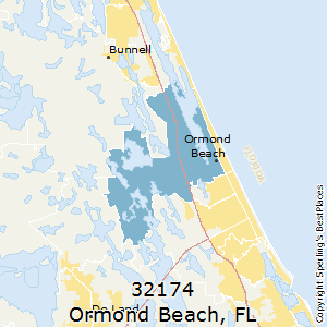 Ormond Beach Zip Code Map.Best Places To Live In Ormond Beach Zip 32174 Florida
