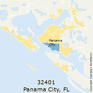 Panama City Fl Zip Code Map.Best Places To Live In Panama City Zip 32401 Florida