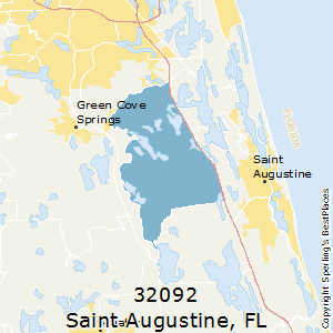 Best Places to Live in Saint Augustine (zip 32092), Florida