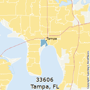 Best Places to Live in Tampa (zip 33606), Florida
