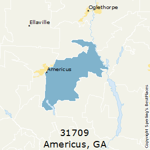 Americus Ga Zip Code Map.Best Places To Live In Americus Zip 31709 Georgia