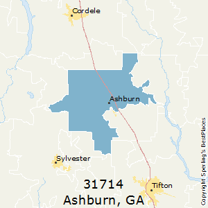 Zip code for ashburn ga