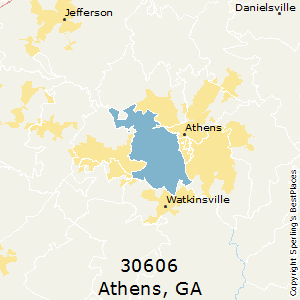 Best Places to Live in Athens (zip 30606), Georgia